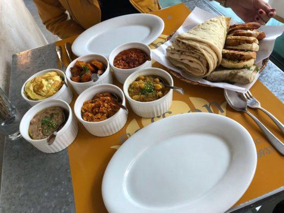Typical Bahraini breakfast